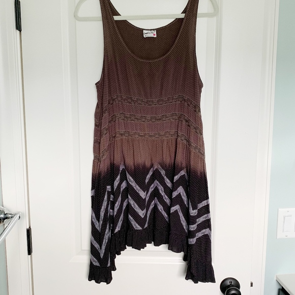 Free People Dresses & Skirts - Free People Voile & Lace Trapeze Slip Dress